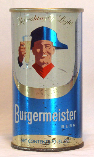Burgermeister Beer Vintage Flat Top Beer Can From Vintagecans Com