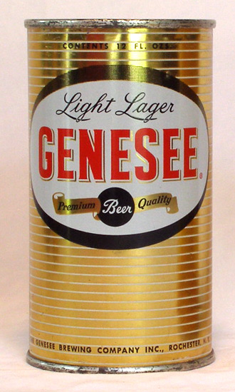 Genesee Beer Flat Top Beer Can