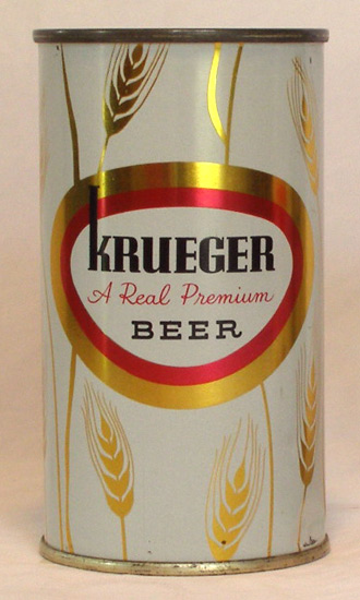 Krueger Beer Flat Top Beer Can
