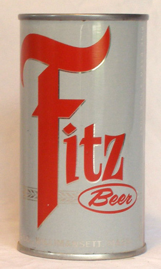 Fitz Beer Flat Top Beer Can