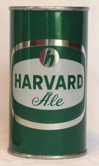 Harvard Ale Flat Top Beer Can