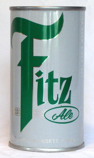 Fitz Ale Flat Top Beer Can