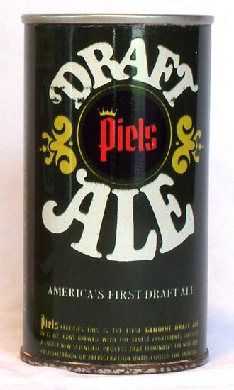 Piels Draft Ale Tab Top Beer Can