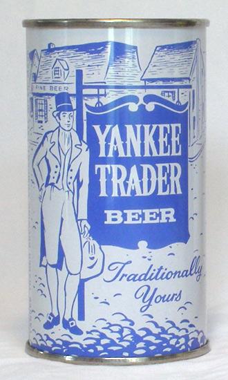 Yankee Trader Beer Flat Top Beer Can