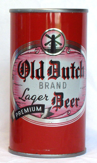 Old Dutch Beer Flat Top Beer Can