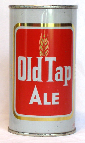 Old Tap Ale Flat Top Beer Can