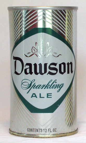 Dawson Ale Tab Top Beer Can