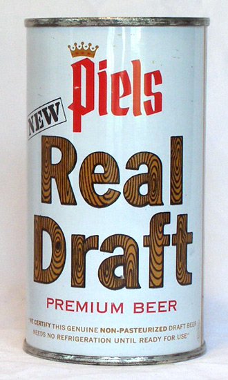 Piels Draft Flat Top Beer Can
