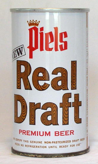 Piels Draft Tab Top Beer Can