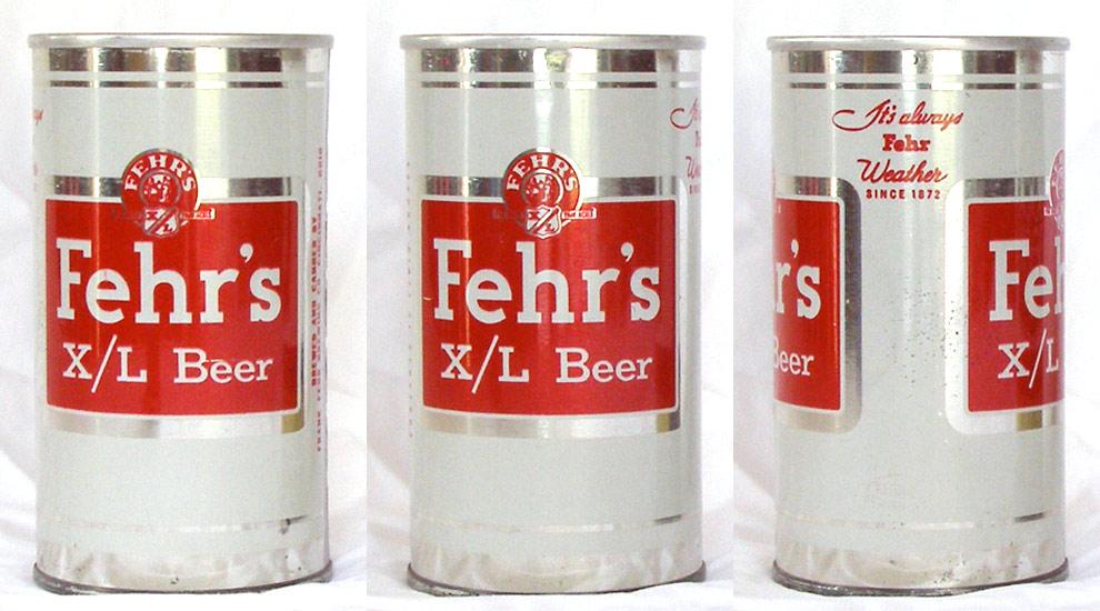 Fehrs XL Beer Tab Top Beer Can