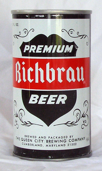 Richbrau Beer Tab Top Beer Can