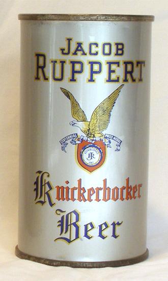 Jacob Ruppert Beer Flat Top Beer Can
