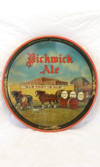 Pickwick Ale Tray