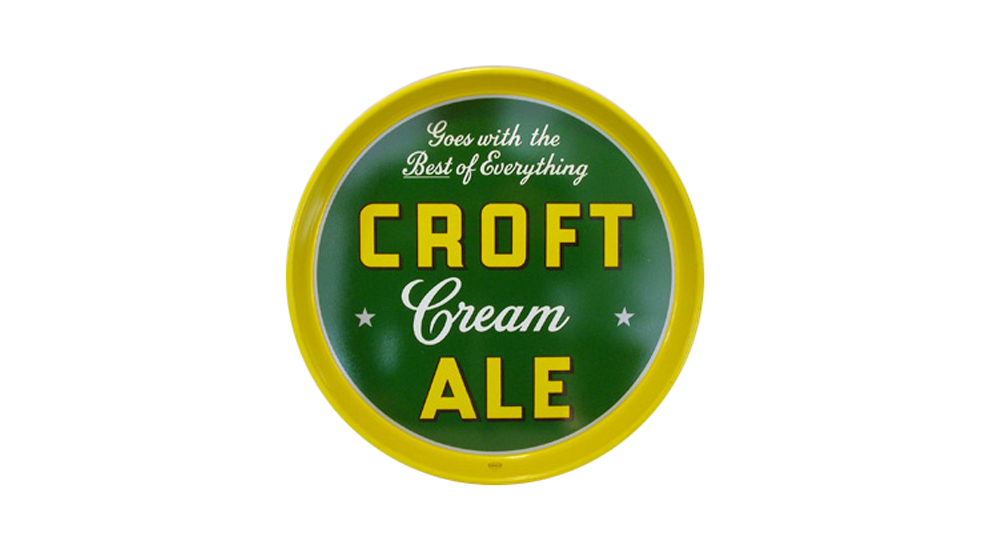 Croft Cream Ale Tray