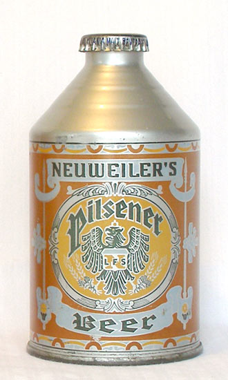 Neuweiler Beer Crowntainer Cone Top Beer Can