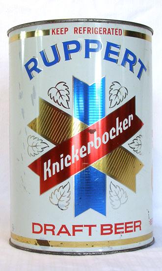 Knickerbocker Draft Flat Top Beer Can