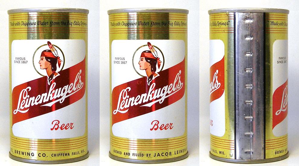 Leinenkugels Beer Tab Top Beer Can