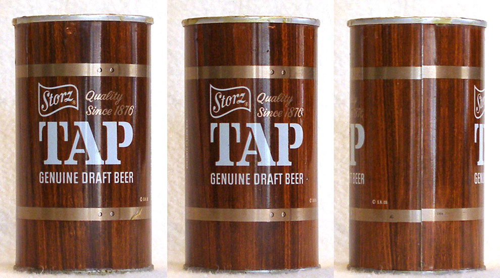 Storz Tap Draft Tab Top Beer Can