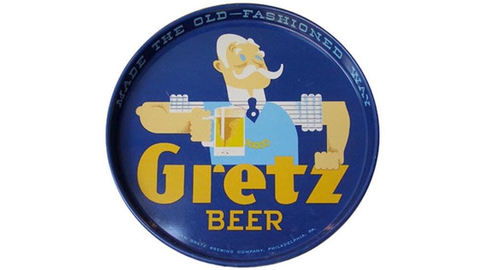 Gretz Beer Tray (12-inch)