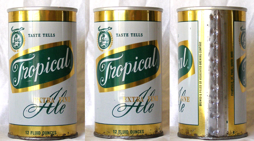 Tropical Ale Tab Top Beer Can
