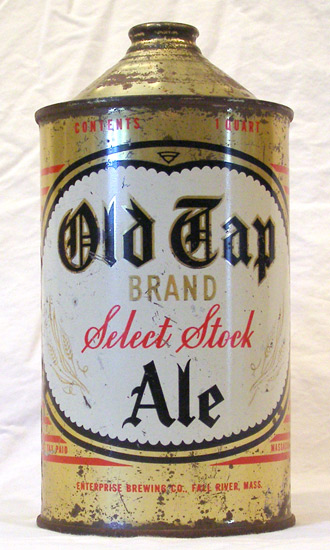 Old Tap Ale Quart Cone Top Beer Can