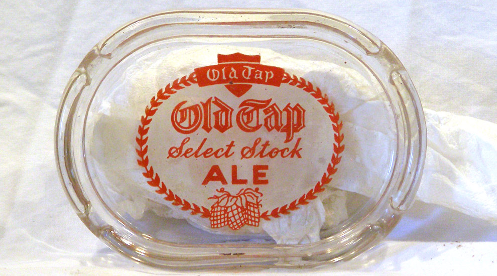 Old Tap Ale Ashtray