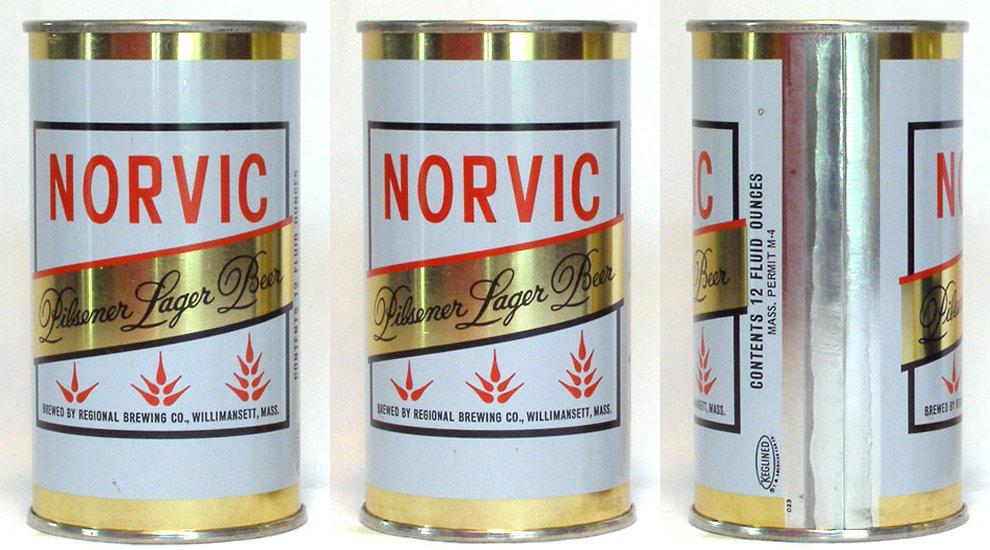 Norvic Beer Tab Top Beer Can