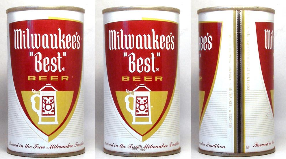 Milwaukees Best Beer Tab Top Beer Can