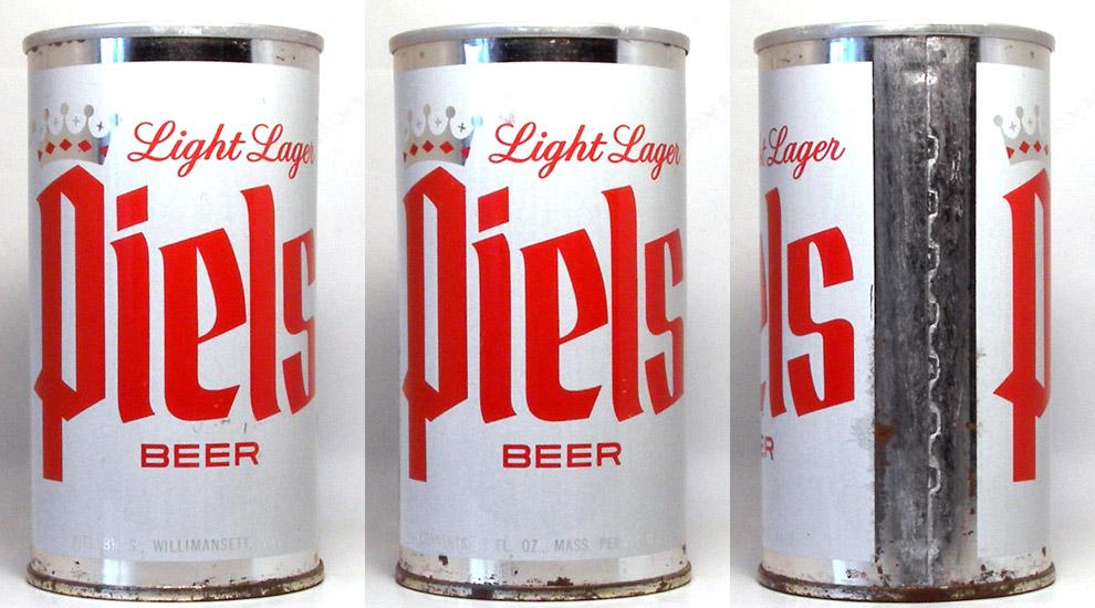 Piels Beer Tab Top Beer Can