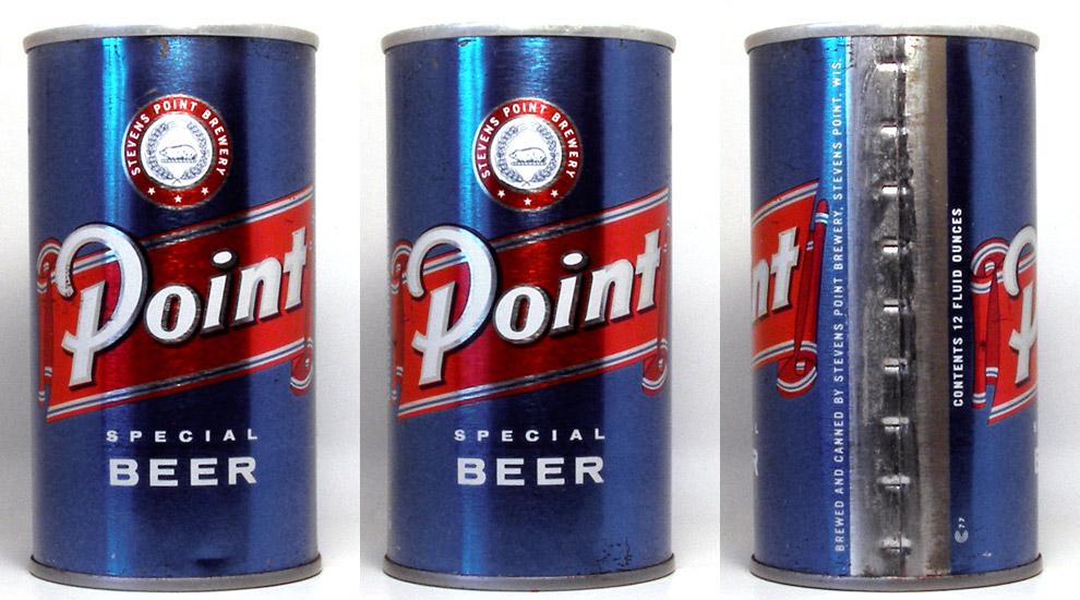 Point Beer Tab Top Beer Can