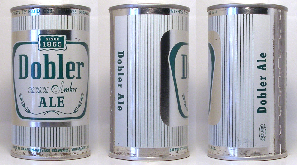Dobler Ale Flat Top Beer Can