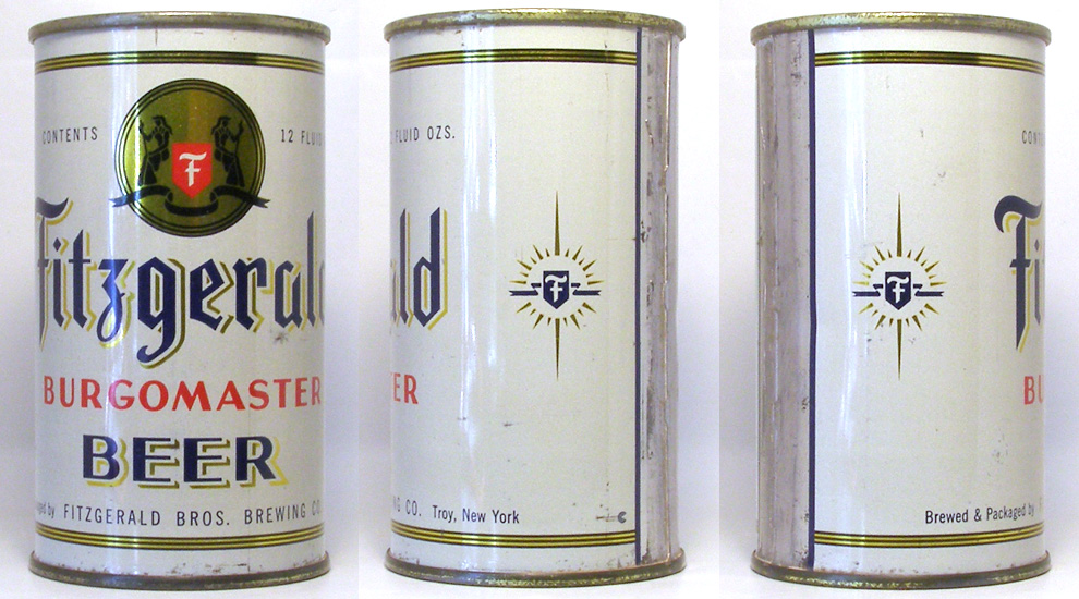 Fitzgerald Beer Flat Top Beer Can