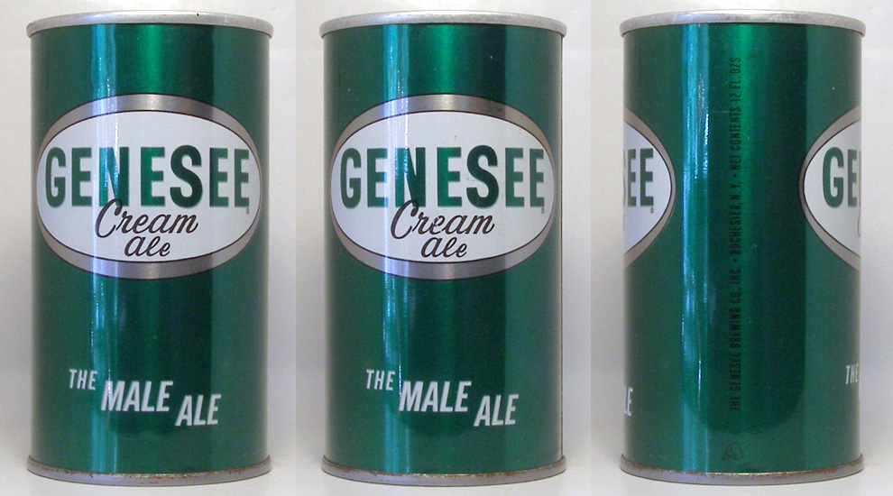 Genesee Ale Tab Top Beer Can