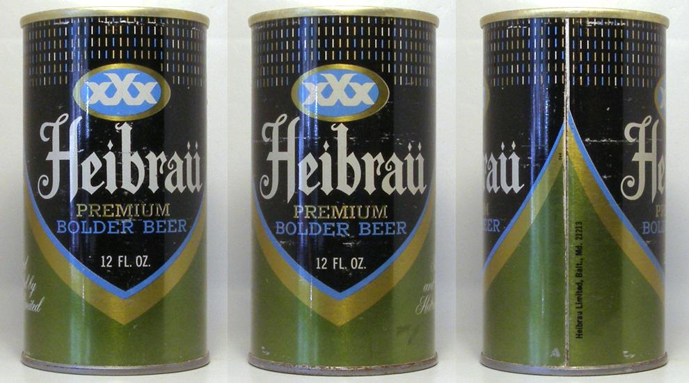 Heibrau Beer Tab Top Beer Can