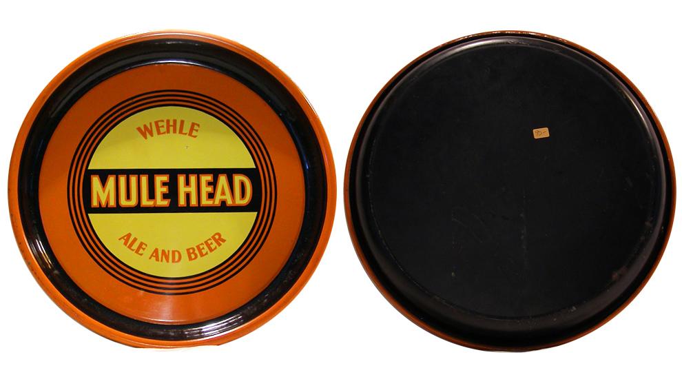 Wehle Mule Head Ale tray