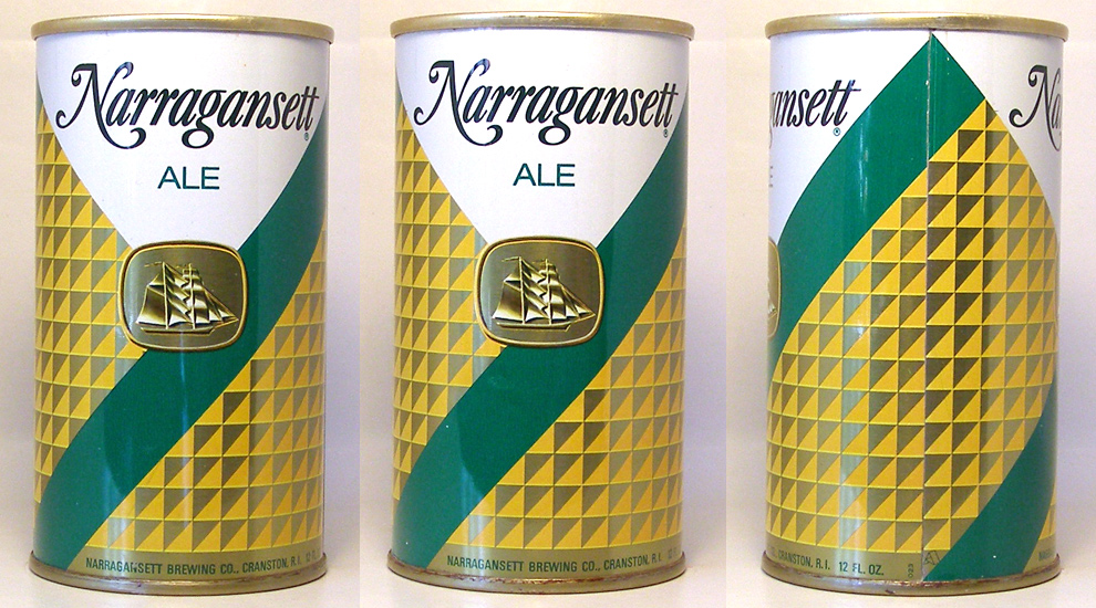 Narragansett Ale Tab Top Beer Can 1655