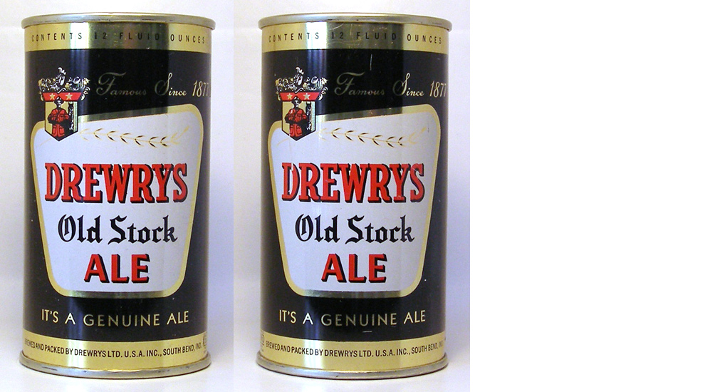 Drewrys Ale Flat Top Beer Can 1671