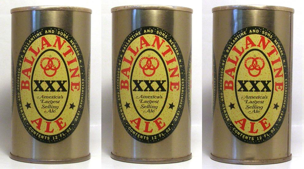Ballantine Ale Tab Top Beer Can
