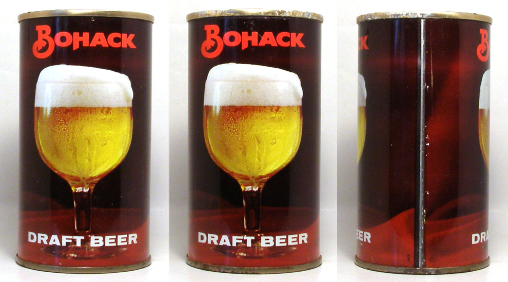 Bohack Draft Tab Top Beer Can