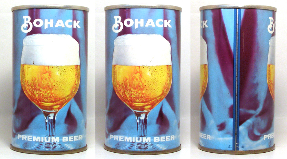 Bohack Beer Tab Top Beer Can