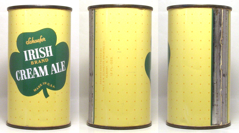 Irish Brand Ale Flat Top Beer Can 1707