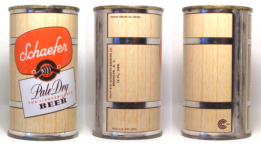 Schaefer Beer Flat Top Beer Can 1711