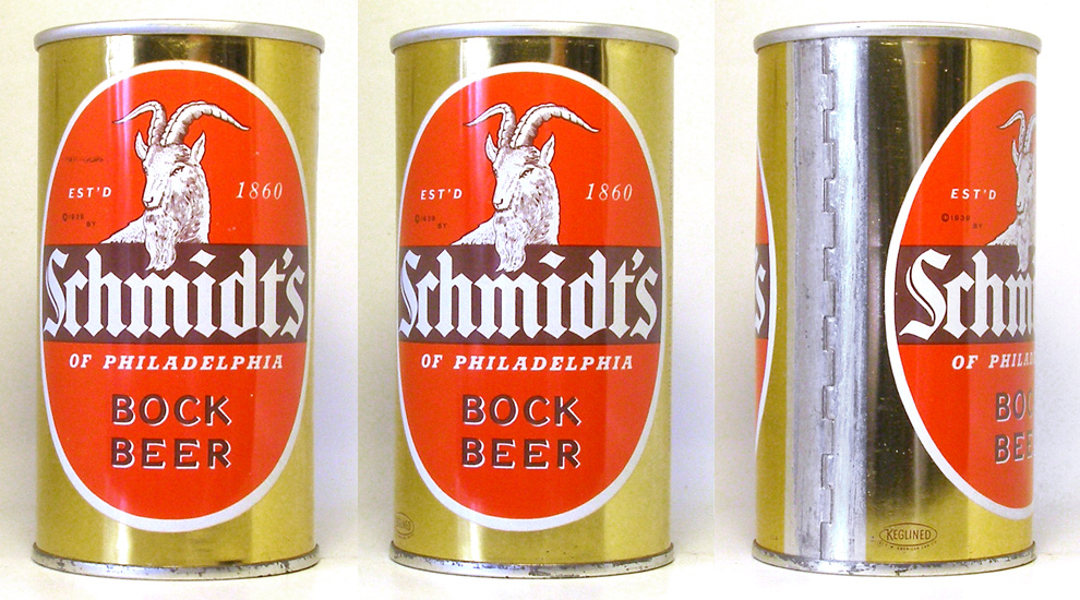 Schmidts Bock Zip Top Beer Can