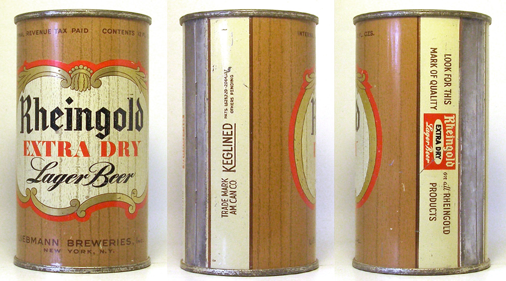 Rheingold Beer Flat Top Beer Can 1753
