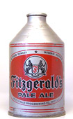 Fitzgeralds Pale Ale  Crowntainer Cone Top Beer Can