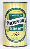 Dawsons Ale  Flat Top Beer Can