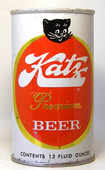 Katz Beer  Tab Top Beer Can