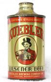 Kuebler Beer  J Spout Cone Top Beer Can