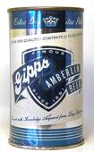 Gipps Amberlin Beer  Flat Top Beer Can