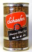 Schaefer Golden Beer  Flat Top Beer Can
